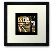 Parramatta Road Framed Print
