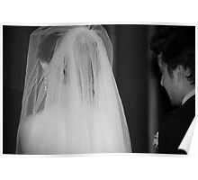 Wedding in Progress Poster