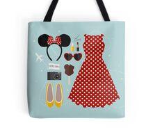 Disney Flatlay Tote Bag