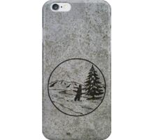 fly fishing iPhone Case/Skin
