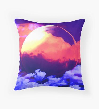 Wonderful World ~ version two Throw Pillow