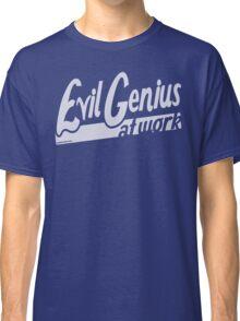 Evil Genius at Work Classic T-Shirt