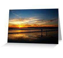 Coronado Sunset Greeting Card