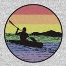 kayaking by Paul Simms