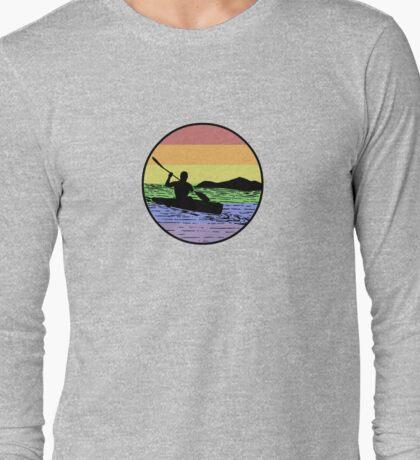 kayaking Long Sleeve T-Shirt