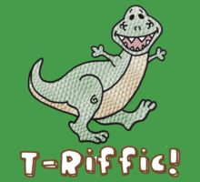 T-Rex: T-Riffic! One Piece - Short Sleeve