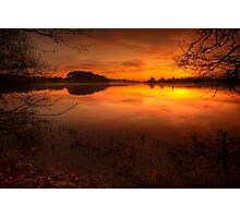 Menteith Sunrise Photographic Print