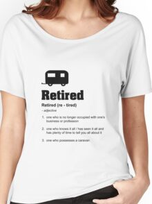 Retired Women's Relaxed Fit T-Shirt