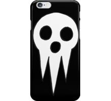 Soul Eater - Lord Death icon iPhone Case/Skin