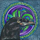 Celtic Raven by Beth Clark-McDonal