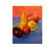 Fruit. 14 x 18. Acrylic. Art Print