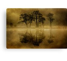 Misty Skeletons Canvas Print
