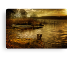The Boats Canvas Print