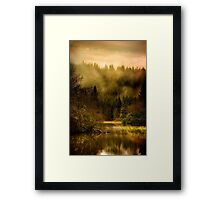 Autumn Mists (2) Framed Print