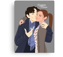 Sherlolly Canvas Print