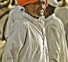 Behind many faces by Prasad