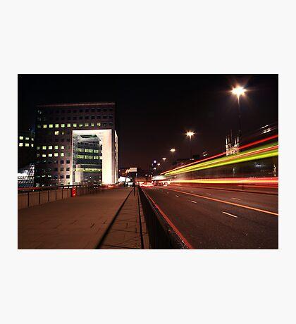 Urban Nights Photographic Print