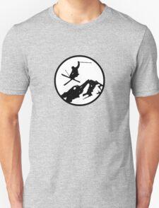 skiing 2 Unisex T-Shirt