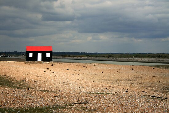 Rye Harbour Shed by Jennifer Standing