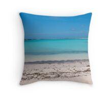 Azure Prisms Throw Pillow