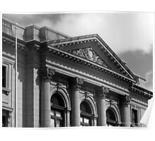 Old Post Office and Courthouse ~ Ogden Utah USA Poster