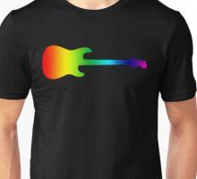 Halftone Psyche Strat Unisex T-Shirt