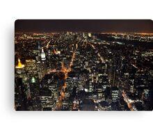 New York, New York! Canvas Print