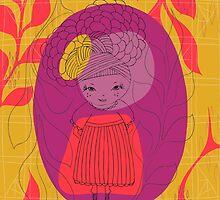 Mum Girl by FerntreeStudio