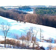 Impression of a Snowy Landscape by vigor