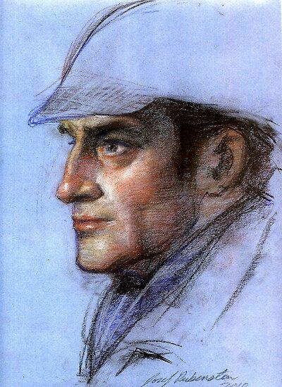 Sherlock Holmes by Josef Rubinstein