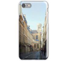 Paris on a quiet day iPhone Case/Skin