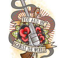 Against the World Valentine by J Edwards