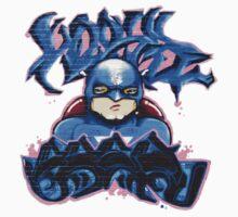 Graffiti- SUPER HERO Kids Tee