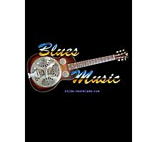 Blues Music Photographic Print
