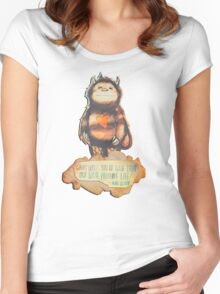 Wild Precious Life [ver. 2] Women's Fitted Scoop T-Shirt