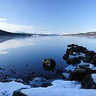 Blue Water - Loch Rannoch by Derek McMorrine