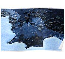 Blue Ice - Loch Rannoch Poster