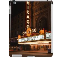 Chicago Theatre iPad Case/Skin