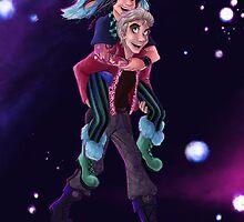 Piggyback Ride by mishy-belle
