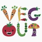 Veg Out - light colors by Andi Bird