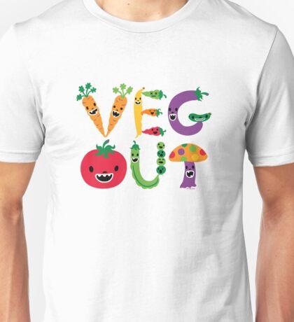 Veg Out - light colors Unisex T-Shirt