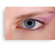 Eye Macro  Canvas Print