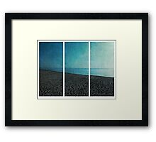Three Parts Framed Print