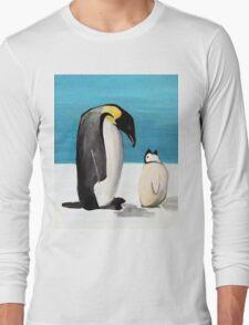 Penguin Love Long Sleeve T-Shirt