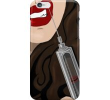 Kiss The Needle iPhone Case/Skin