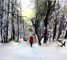 Winter walk by Jennib