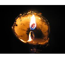 Swiss Candle Photographic Print