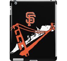 San Francisco Giants Stencil White iPad Case/Skin