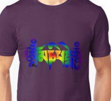 Om Mani Padme Hum - Rainbow Unisex T-Shirt