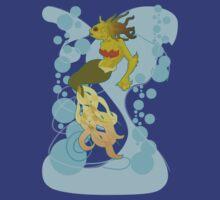 Mermaid Redux by monkeyminion